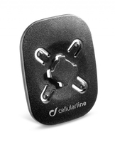 Cellularline HOLDERCLIP Auto Passive holder Nero supporto per personal communication