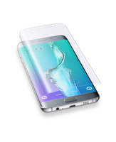Cellularline Ok Display Invisible Curved - Galaxy S6 Edge Plus Pellicola protettiva curva e autoistallante Trasparente