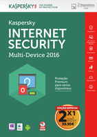 Kaspersky Lab Internet Security - Multi-Device 2016 Base license 2utente(i) 1anno/i Portoghese