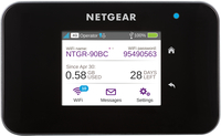 Netgear AirCard 810 Dual-band (2.4 GHz/5 GHz) 3G 4G Nero router wireless