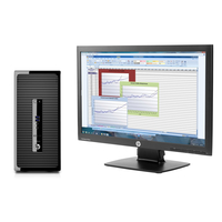 HP ProDesk 400 G3 MT + ProDisplay P222va 2.5GHz i7-6500U Microtorre Nero PC