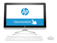 "HP 22-b015ns 1.6GHz J3060 21.5"" 1920 x 1080Pixel Touch screen Bianco PC All-in-one"