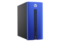HP Pavilion 550-244ns 3.6GHz A10-8750 Torre Nero, Blu PC