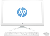 "HP 22-b005ns 1.6GHz J3060 21.5"" 1920 x 1080Pixel Bianco PC All-in-one"