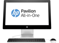 "HP Pavilion 23-q203ns 2.2GHz i5-6400T 23"" 1920 x 1080Pixel Touch screen Nero, Bianco PC All-in-one"