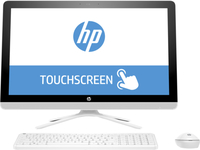 "HP 24-g008ns 2.3GHz i5-6200U 23.8"" 1920 x 1080Pixel Touch screen Bianco PC All-in-one"