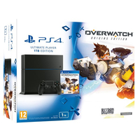 Sony PS4 1TB + Overwatch 1000GB Wi-Fi Nero