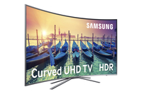 "Samsung UE49KU6500U 49"" 4K Ultra HD Smart TV Wi-Fi Metallico, Argento LED TV"