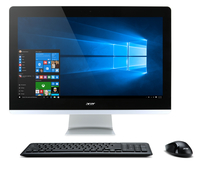 "Acer Aspire Z3-711 2GHz i3-5005U 23.8"" 1920 x 1080Pixel Touch screen Nero, Argento PC All-in-one"