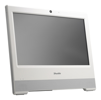 "Shuttle XPC POS X505 1.6GHz 3855U 15.6"" 1366 x 768Pixel Touch screen Bianco PC All-in-one"