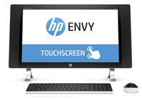 "HP ENVY 24-n201nb 2.8GHz i7-6700T 23.8"" 2560 x 1440Pixel Touch screen Bianco PC All-in-one"
