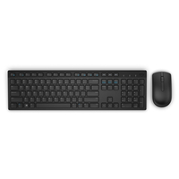 DELL KM636 RF Wireless AZERTY Belga Nero tastiera