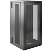Tripp Lite SRW26USDPG rack cabinet 26U Wall mounted rack Black