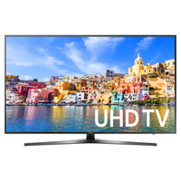 "Samsung UN65KU7000 64.5"" 4K Ultra HD Smart TV Wi-Fi Argento LED TV"