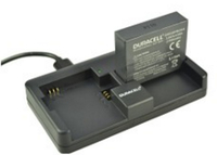 Duracell DRUCGPH4 Indoor battery charger Black battery charger