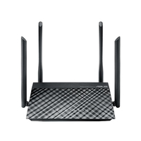 ASUS RT-AC1200G+ Collegamento ethernet LAN Nero router cablato