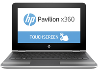 "HP Pavilion x360 11-s001nf 1.6GHz N3060 11.6"" 1366 x 768Pixel Touch screen Grigio, Argento Ibrido (2 in 1)"
