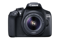 Canon EOS 1300D + 18-55mm IS II Kit fotocamere SLR 18MP CMOS 5184 x 3456Pixel Nero
