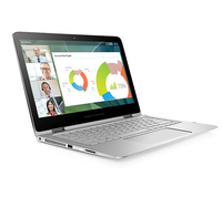 "HP Spectre Pro x360 G2 2.6GHz i7-6600U 13.3"" 2560 x 1440Pixel Touch screen Argento Ibrido (2 in 1)"