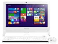 "Lenovo IdeaCentre C20-00 1.6GHz N3150 19.5"" 1366 x 768Pixel Bianco PC All-in-one"