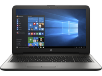 "HP 15-ay005nd 1.6GHz N3710 15.6"" 1366 x 768Pixel Argento Computer portatile"