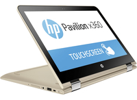 "HP Pavilion x360 13-u090nd 2.3GHz i3-6100U 13.3"" 1920 x 1080Pixel Touch screen Oro Computer portatile"