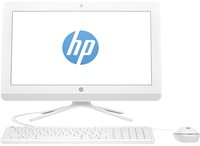 "HP 20-c000nf 1.8GHz E2-7110 19.5"" 1600 x 900Pixel Bianco PC All-in-one"