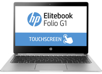 "HP EliteBook Folio G1 + Premium Leather Brown Case 1.2GHz m7-6Y75 12.5"" 3840 x 2160Pixel Touch screen Argento Computer portatile"
