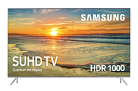 "Samsung UE55KS7000U 55"" 4K Ultra HD Smart TV Wi-Fi Nero, Argento LED TV"