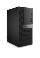 DELL OptiPlex 5040 MT + P2016 3.7GHz i3-6100 Mini Tower Nero PC