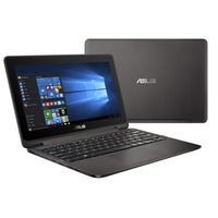 "ASUS VivoBook Flip TP201SA-FV0007T 1.6GHz N3710 11.6"" 1366 x 768Pixel Touch screen Grigio, Metallico Ibrido (2 in 1)"
