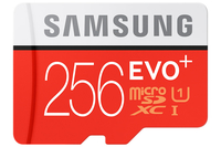 Samsung EVO Plus MB-MC256D 256GB MicroSDXC UHS-I Classe 10 memoria flash