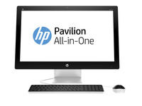 "HP Pavilion 27-n202nf 3.2GHz i3-6100T 27"" 1920 x 1080Pixel Bianco PC All-in-one"