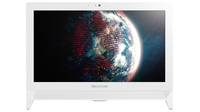 "Lenovo C 20-00 1.6GHz N3050 19.5"" 1600 x 900Pixel Bianco PC All-in-one"