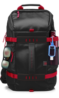 "HP 39.62 cm (15.6"") Odyssey Backpack Red/Black Nylon Nero, Rosso zaino"