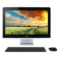 "Acer Aspire Z3-715 3.2GHz i3-6100T 23.8"" 1920 x 1080Pixel Touch screen Nero, Argento PC All-in-one"