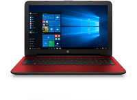"HP 15-ac144nb 1.6GHz N3050 15.6"" 1366 x 768Pixel Rosso Computer portatile"