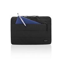 "Ewent City Sleeve 15.6"" Custodia a tasca Nero"