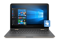 "HP Spectre x360 13-4230ng 2.2GHz i7-6560U 13.3"" 2560 x 1440Pixel Touch screen Alluminio, Argento Ibrido (2 in 1)"