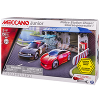 Meccano Junior Police Station Architecture erector set 156pezzo(i)