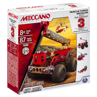 Meccano 3 Model Set Multi erector set 87pezzo(i)