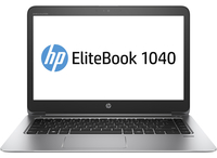 "HP EliteBook Folio 1040 G3 2.4GHz i5-6300U 14"" 2560 x 1440Pixel Argento Ultrabook"