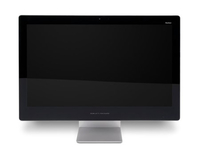 "HP Pavilion 23-q166l 3.2GHz i3-6100T 23"" 1920 x 1080Pixel Nero, Argento PC All-in-one"