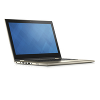 "DELL Inspiron 13 2.3GHz i3-6100U 13.3"" 1920 x 1080Pixel Touch screen Nero, Oro Ibrido (2 in 1)"