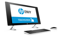 "HP ENVY 27-p200no 2.8GHz i7-6700T 27"" 2560 x 1440Pixel Touch screen Perlato, Bianco PC All-in-one"