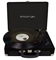 Brigmton BTC-404-N Nero piatto audio