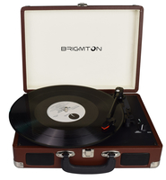 Brigmton BTC-404-M Marrone piatto audio