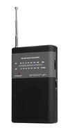 Brigmton BT-350-N Portatile Digitale Nero radio