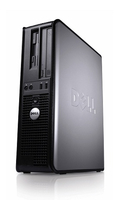 DELL OptiPlex 360 DT 2.66GHz E7300 Scrivania Nero, Argento PC