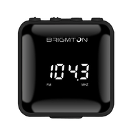 Brigmton BT-125-N Personale Digitale Nero radio